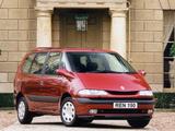 Renault Espace UK-spec (JE0) 1996–2002 images