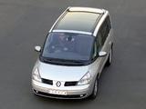 Renault Espace ZA-spec (J81) 2002–06 images