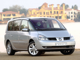 Renault Espace ZA-spec (J81) 2002–06 photos