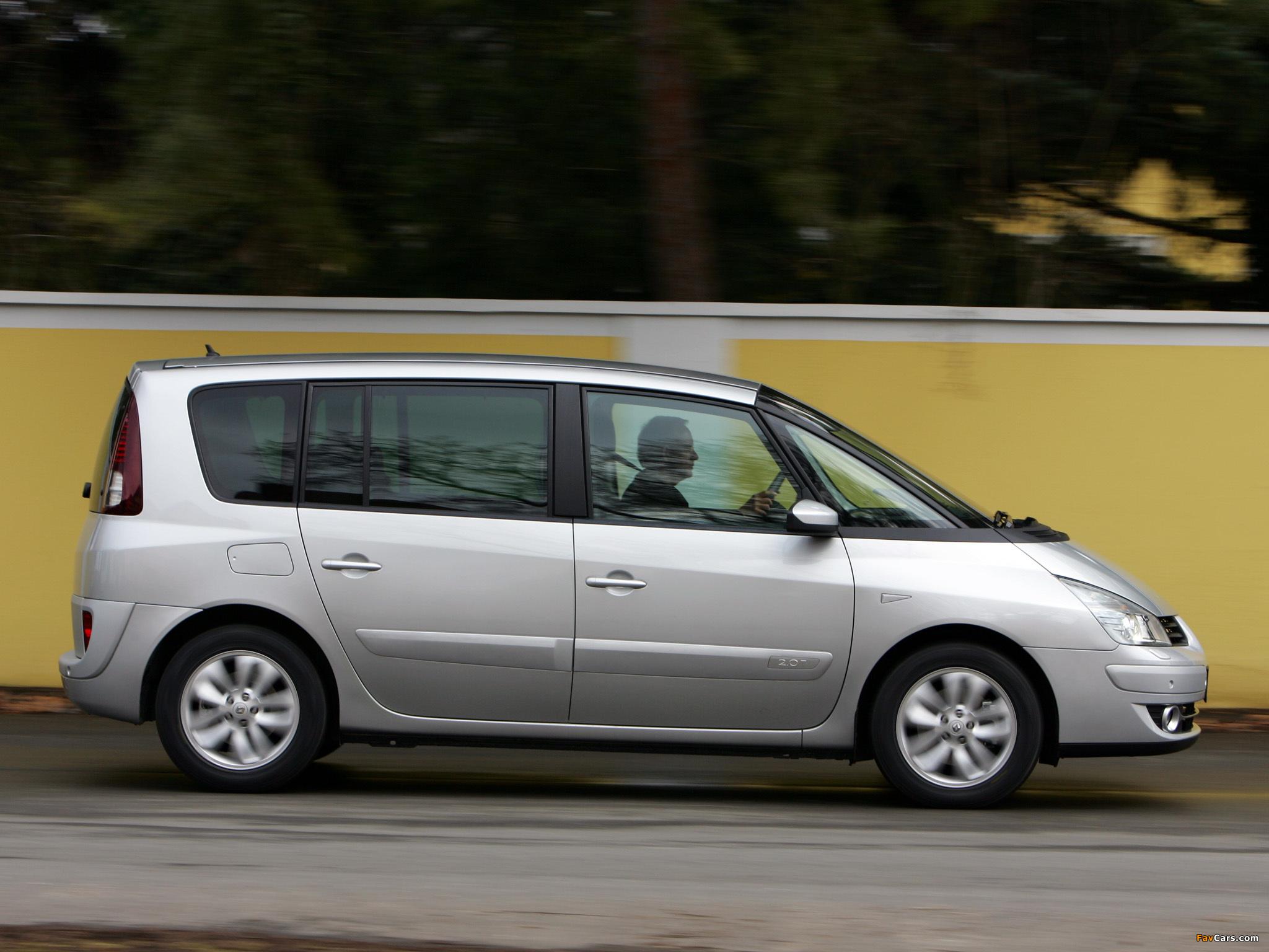 Renault Espace (J81) 2006 images (2048 x 1536)