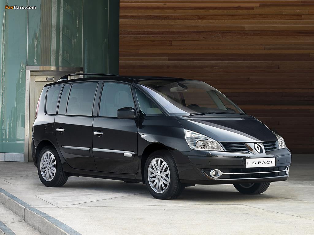 Renault Espace (J81) 2006 images (1024 x 768)