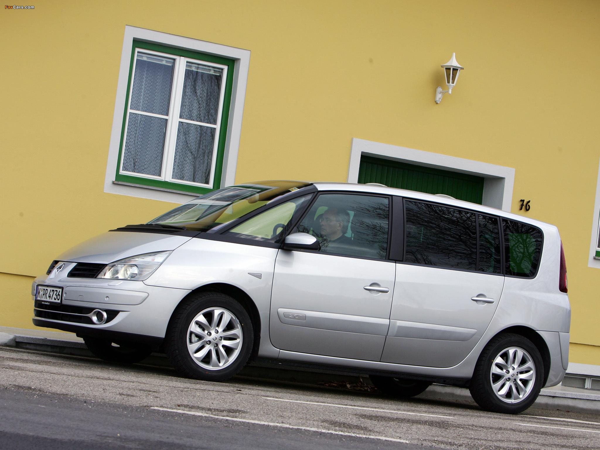 Renault Espace (J81) 2006 photos (2048 x 1536)