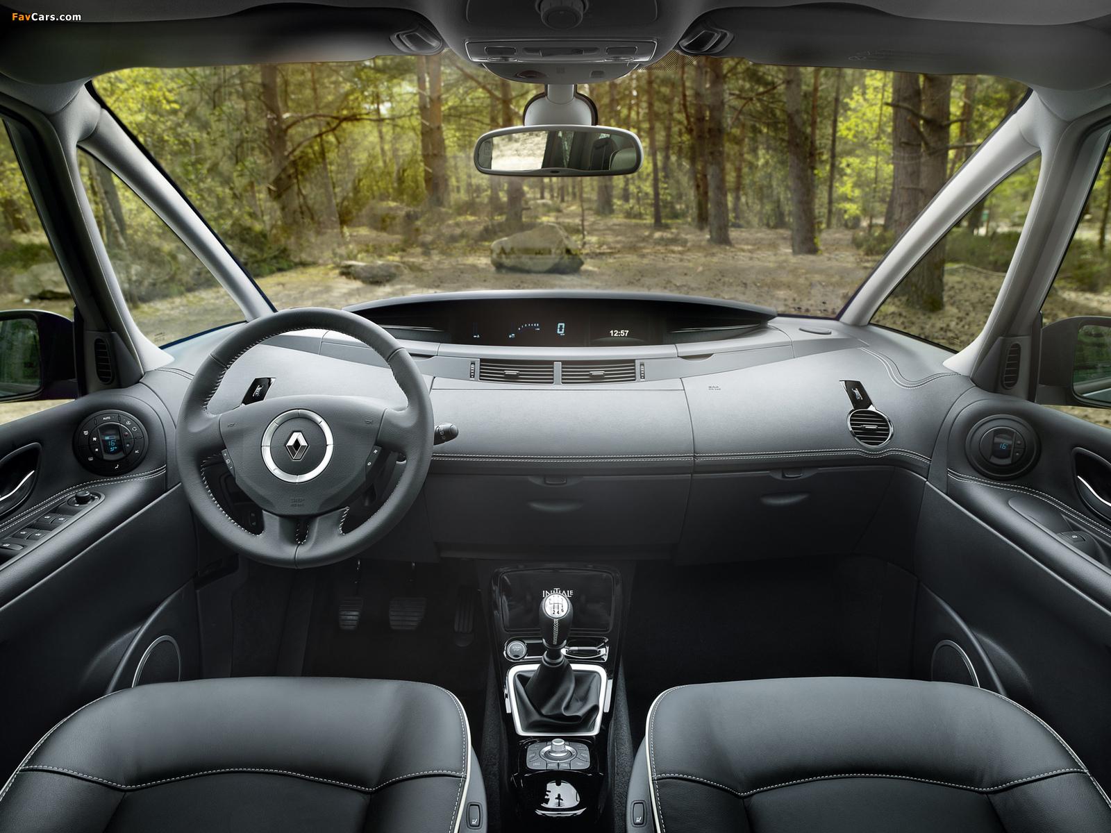 Renault Grand Espace (J81) 2012 wallpapers (1600 x 1200)