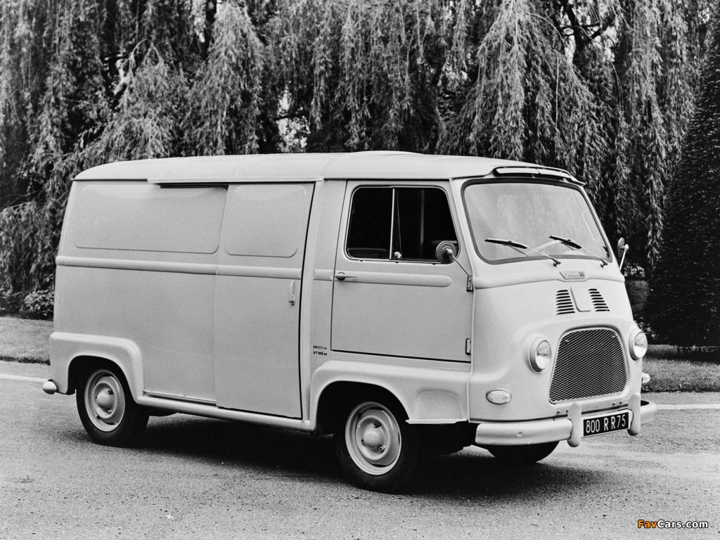 Renault Estafette Van 1959–80 images (1024 x 768)