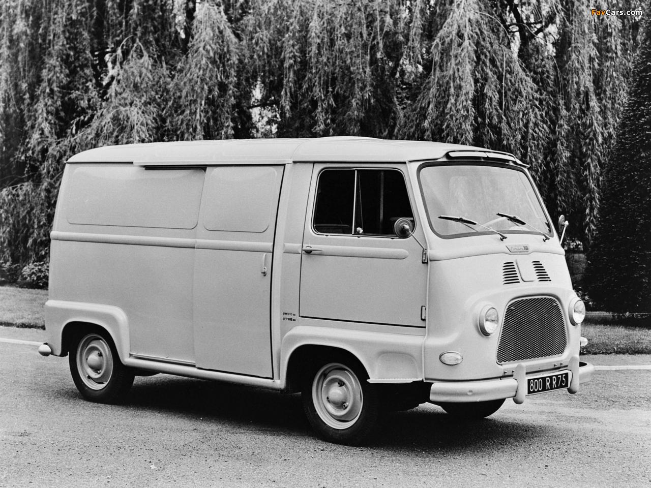 Renault Estafette Van 1959–80 images (1280 x 960)