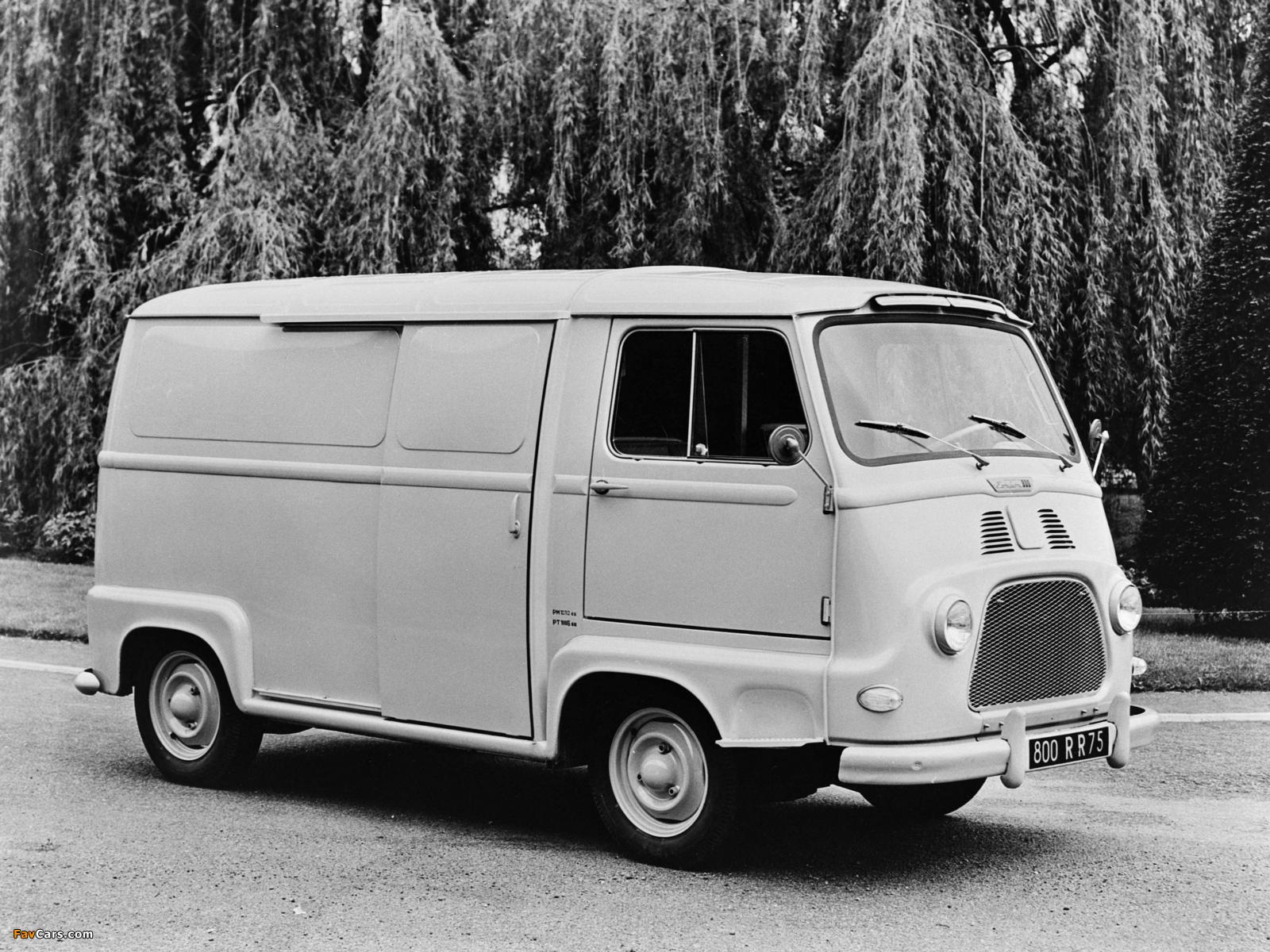 Renault Estafette Van 1959–80 images (1600 x 1200)
