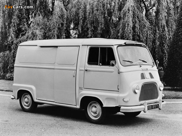 Renault Estafette Van 1959–80 images (640 x 480)