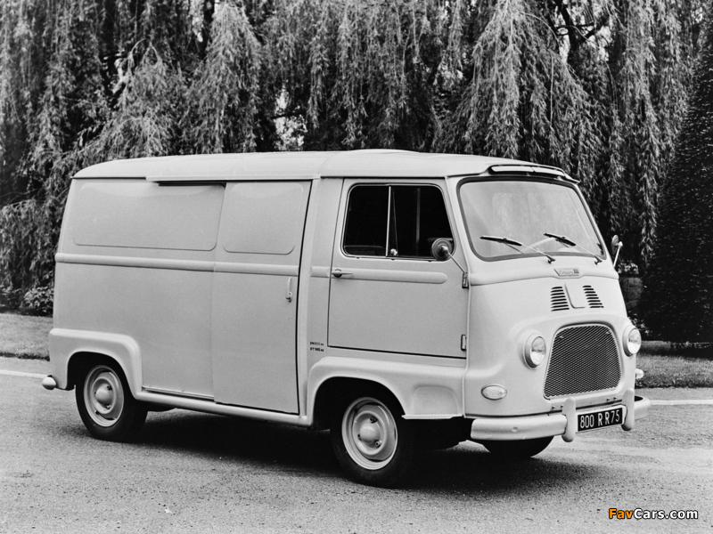 Renault Estafette Van 1959–80 images (800 x 600)