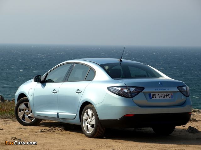 Images of Renault Fluence Z.E. 2010 (640 x 480)