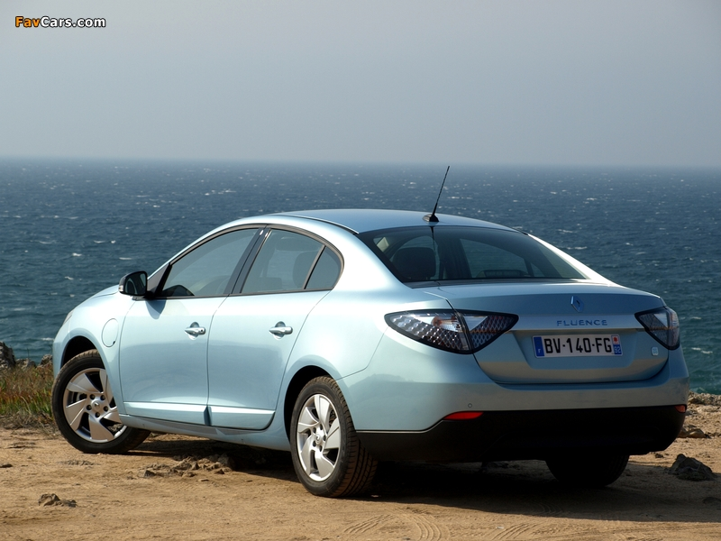 Images of Renault Fluence Z.E. 2010 (800 x 600)