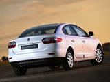 Photos of Renault Fluence ZA-spec 2010
