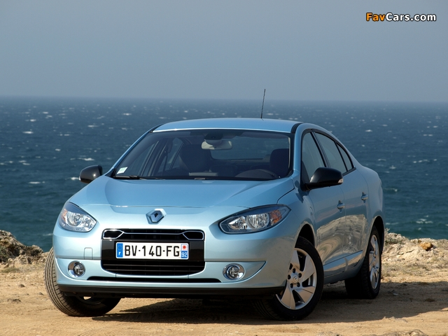 Photos of Renault Fluence Z.E. 2010 (640 x 480)