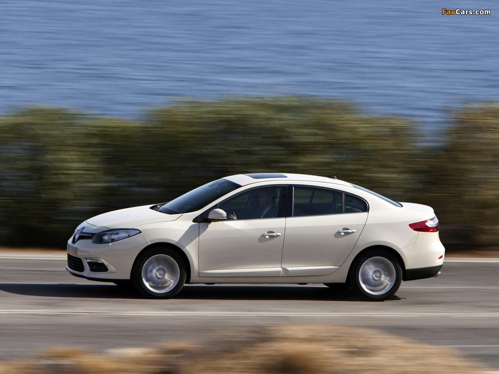 Photos of Renault Fluence 2012 (1024 x 768)