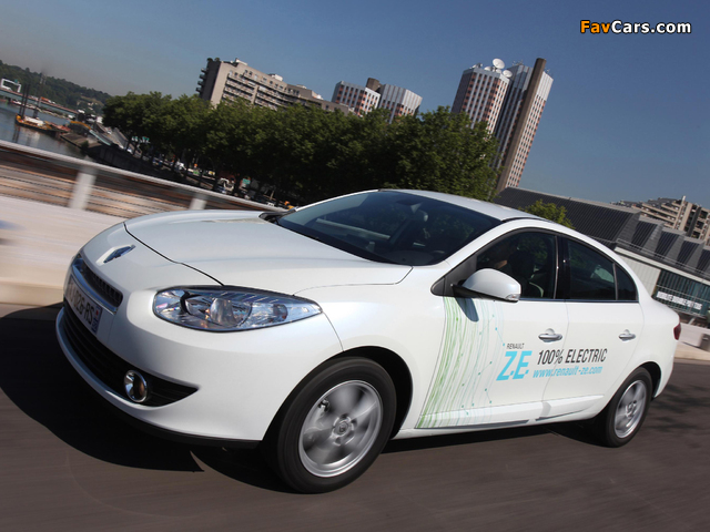 Pictures of Renault Fluence Z.E. 2010 (640 x 480)