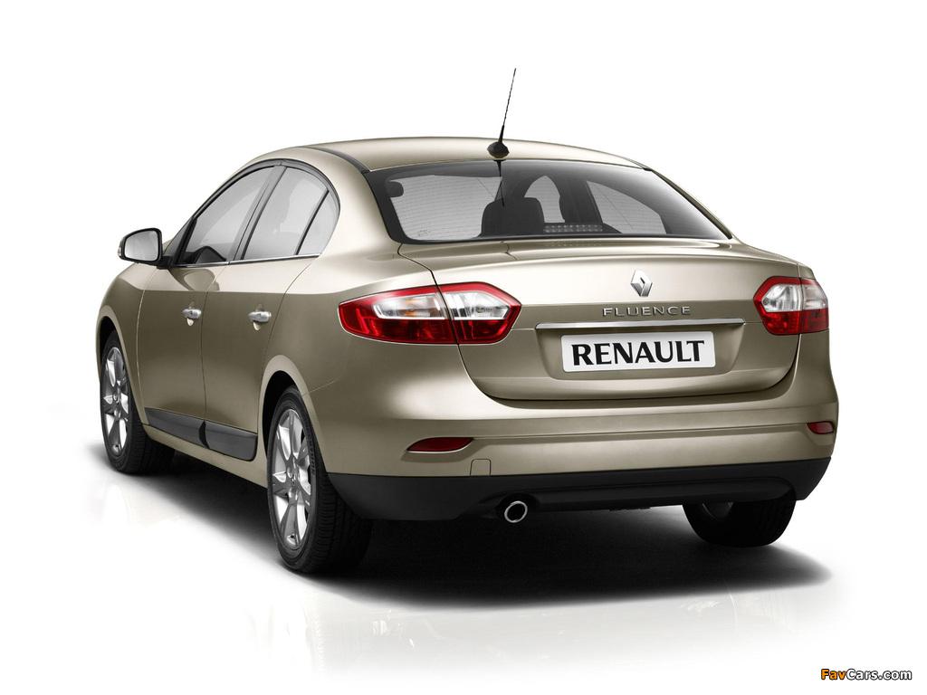 Renault Fluence 2009 photos (1024 x 768)