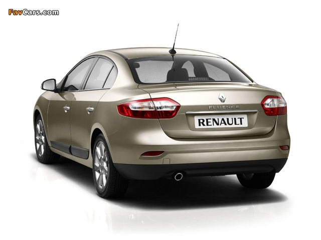 Renault Fluence 2009 photos (640 x 480)