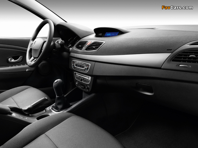 Renault Fluence 2009 pictures (640 x 480)