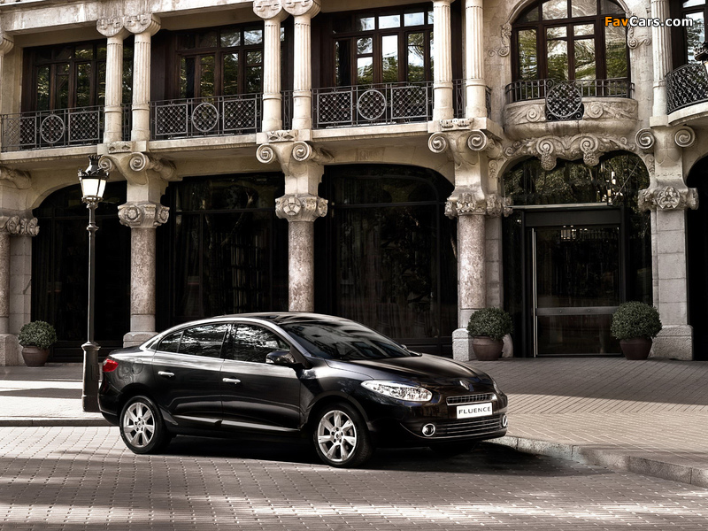 Renault Fluence 2009 wallpapers (800 x 600)