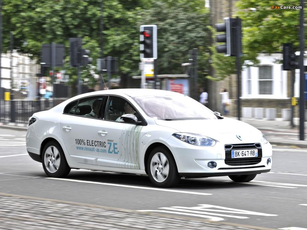 Renault Fluence Z.E. 2010 images (1024 x 768)