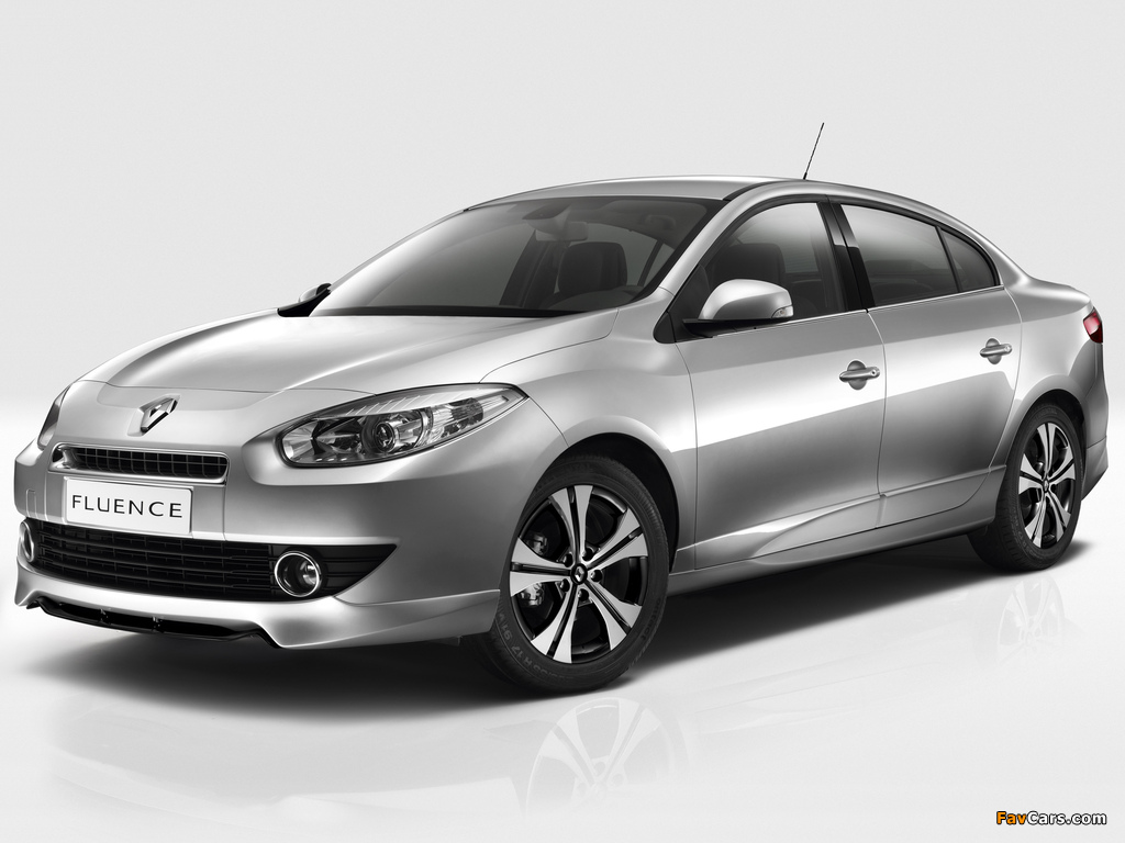 Renault Fluence Black Edition 2012 pictures (1024 x 768)