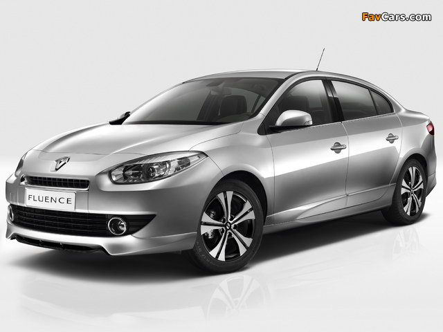 Renault Fluence Black Edition 2012 pictures (640 x 480)