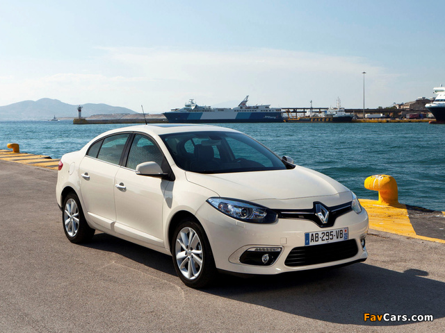 Renault Fluence 2012 wallpapers (640 x 480)