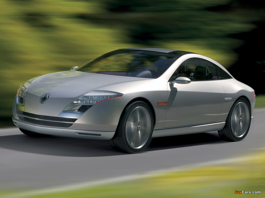 Renault Fluence Concept 2004 wallpapers (1024 x 768)