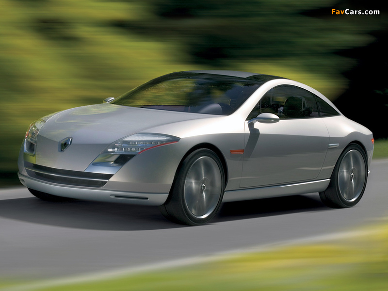 Renault Fluence Concept 2004 wallpapers (800 x 600)
