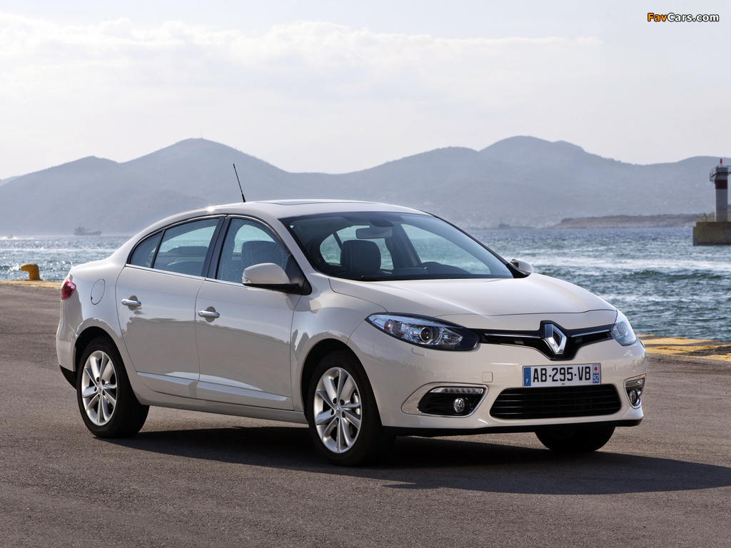 Renault Fluence 2012 wallpapers (1024 x 768)