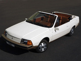 Photos of Renault Fuego Cabriolet Concept by Heuliez 1982