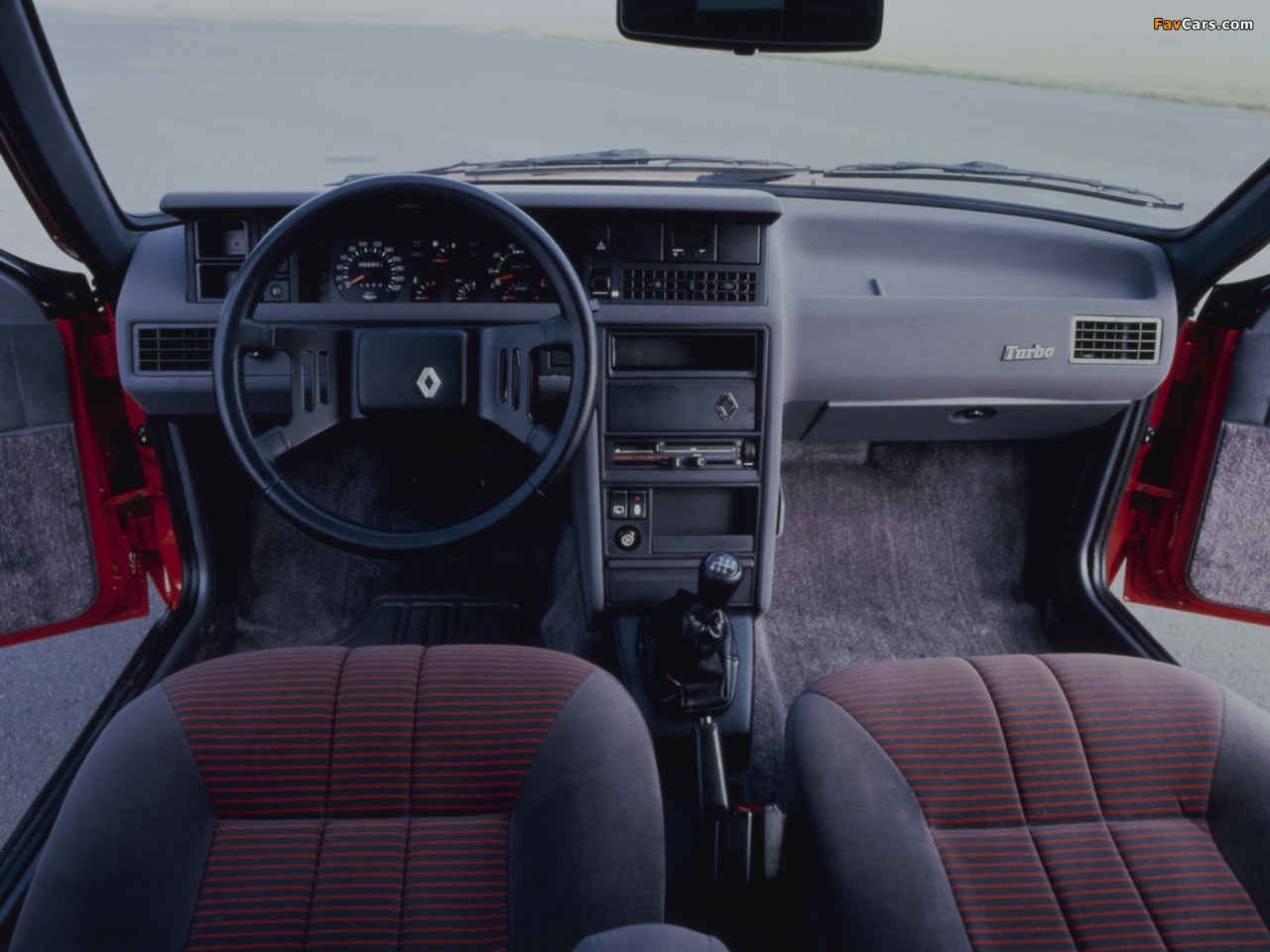 Renault Fuego Turbo 1983–86 pictures (1280 x 960)