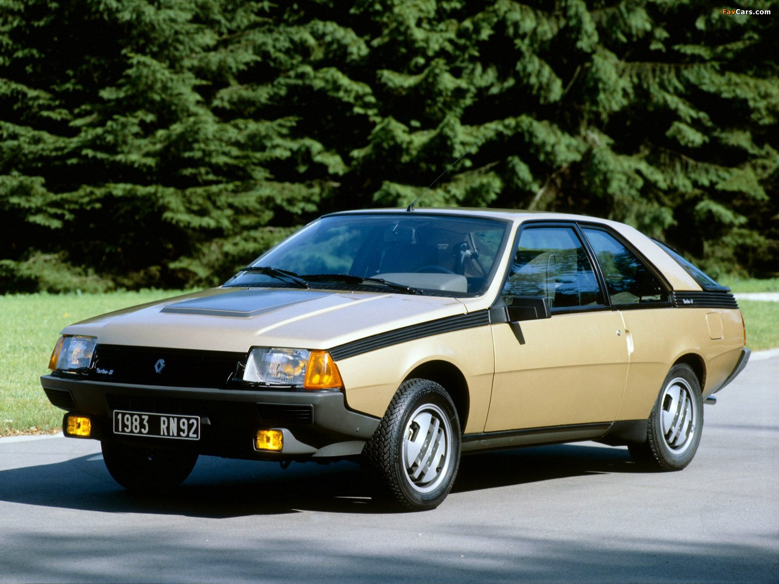 Renault Fuego Turbo 1983–86 wallpapers (1600 x 1200)