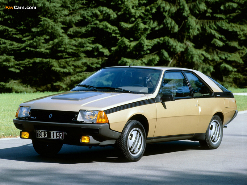 Renault Fuego Turbo 1983–86 wallpapers (800 x 600)