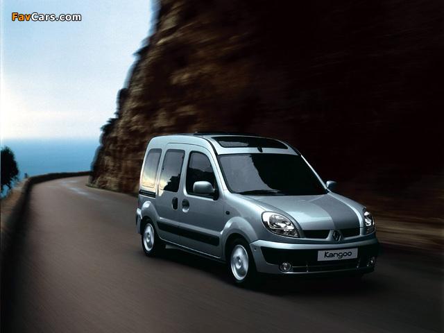Renault Kangoo 2004–07 photos (640 x 480)