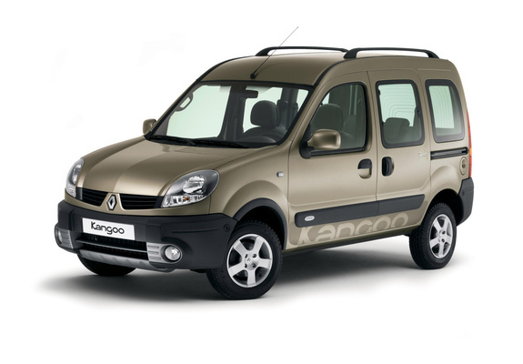 renault kangoo 4x4 2004–07 wallpapers