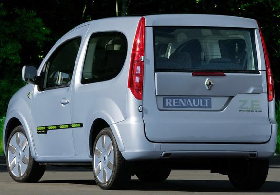 Renault Kangoo Be Bop Ze Prototype 2009 Photos