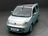 Renault Kangoo Be Bop Z.E. Prototype 2009 pictures
