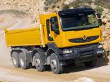 Renault Kerax 8x4 Tipper 1996–2013 photos