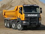 Renault Kerax 8x4 XTREM Tipper 2011–13 pictures