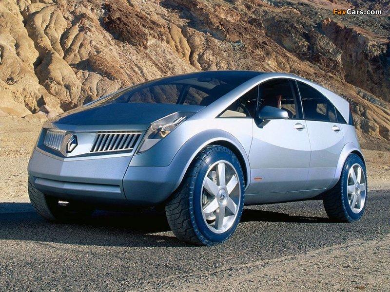 Pictures of Renault Koleos Concept 2000 (800 x 600)