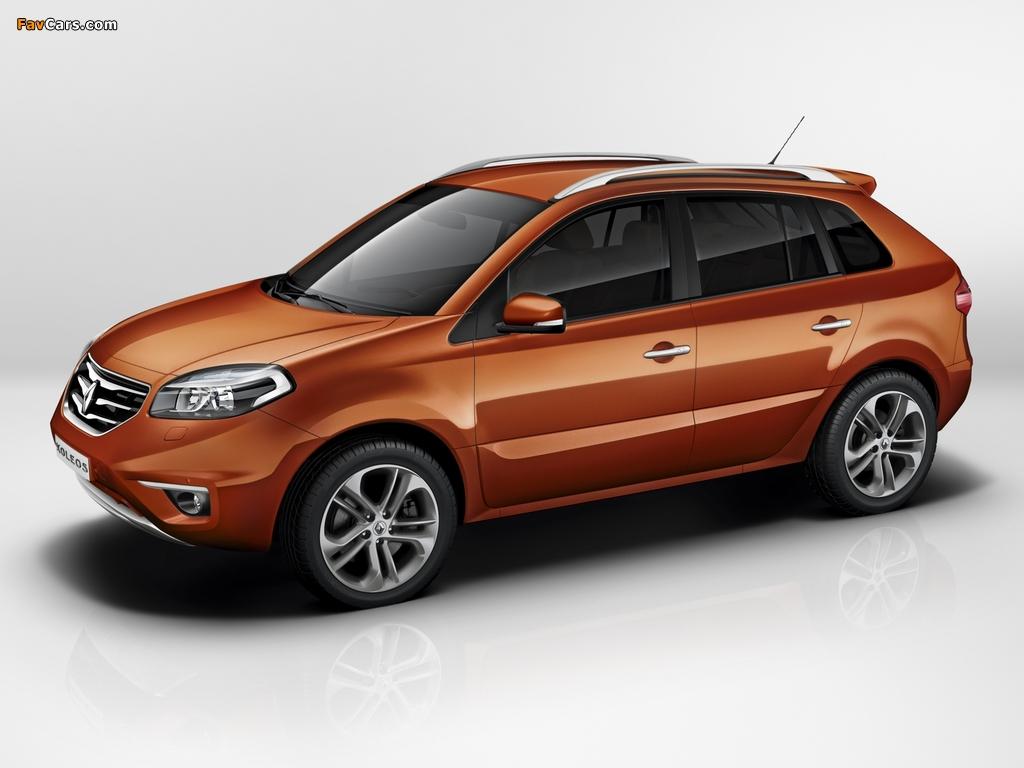Pictures of Renault Koleos 2011–13 (1024 x 768)