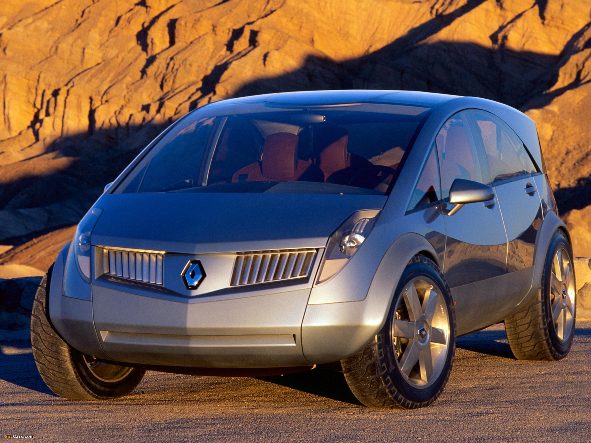Renault Koleos Concept 2000 photos (2048 x 1536)