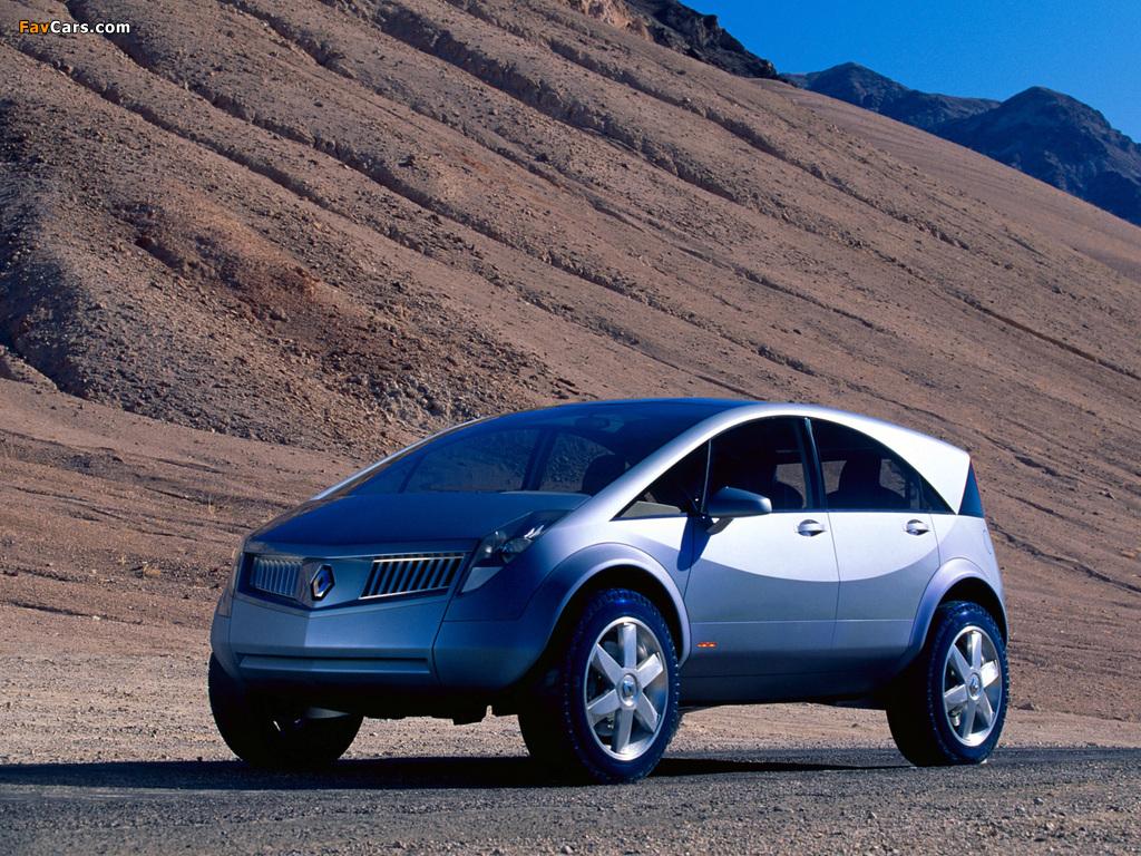 Renault Koleos Concept 2000 pictures (1024 x 768)