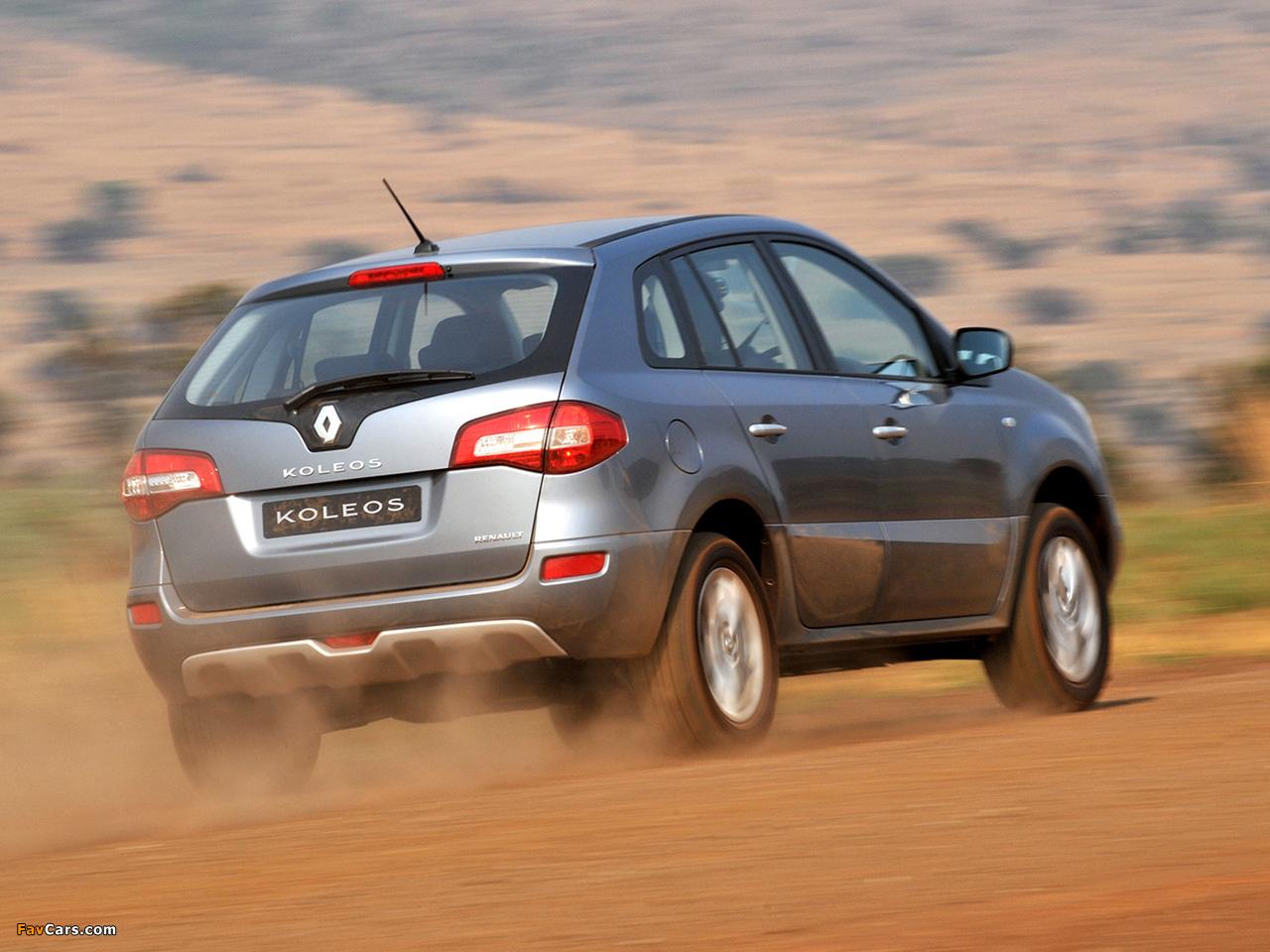 Renault Koleos ZA-spec 2008 pictures (1280 x 960)