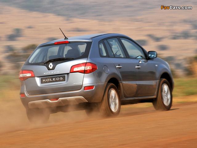 Renault Koleos ZA-spec 2008 pictures (640 x 480)