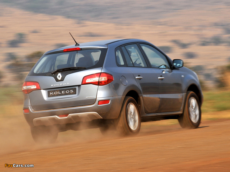 Renault Koleos ZA-spec 2008 pictures (800 x 600)