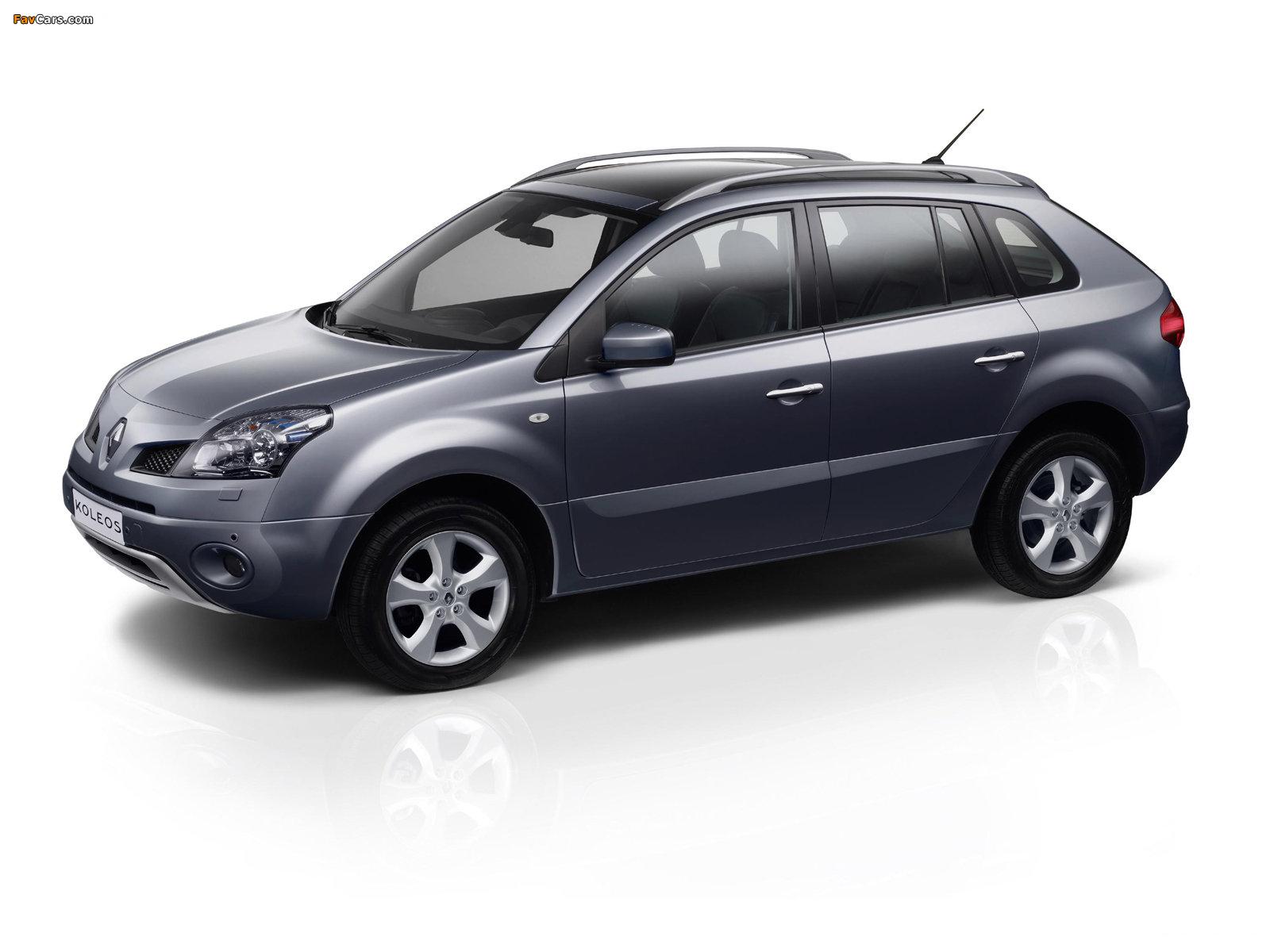 Renault Koleos 2008–11 wallpapers (1600 x 1200)