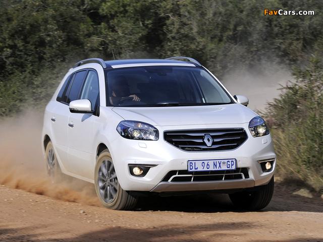 Renault Koleos ZA-spec 2012 images (640 x 480)