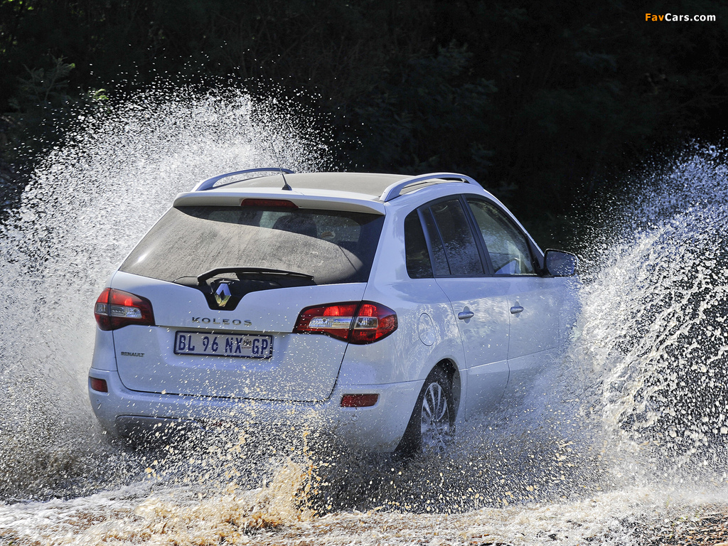 Renault Koleos ZA-spec 2012 photos (1024 x 768)