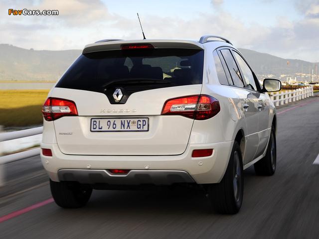 Renault Koleos ZA-spec 2012 photos (640 x 480)